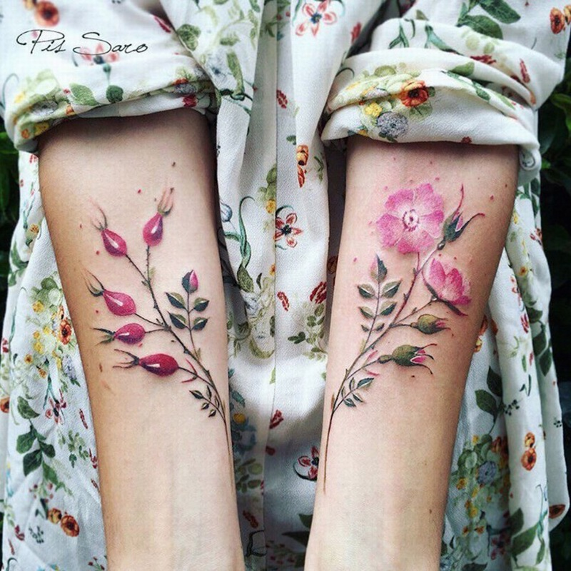 refined-floral-tattoos-2