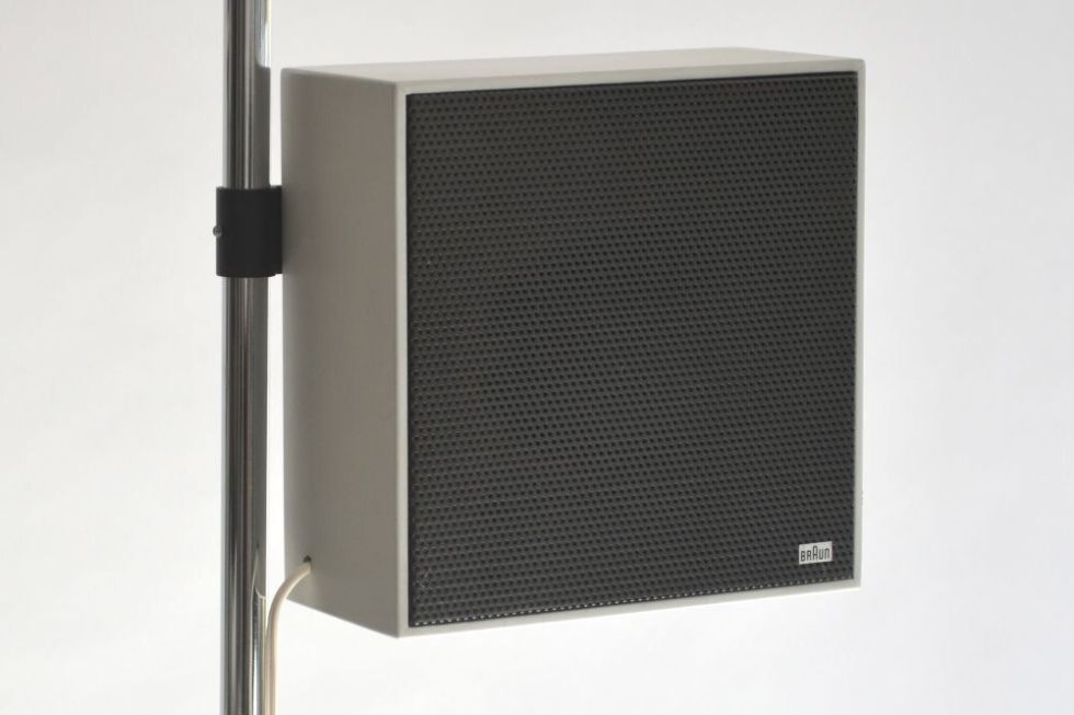 PURE AUDIO  BRAUN SPEAKERS