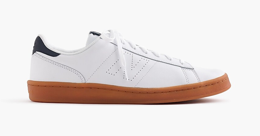 New Balance for J.Crew 791 leather sneakers