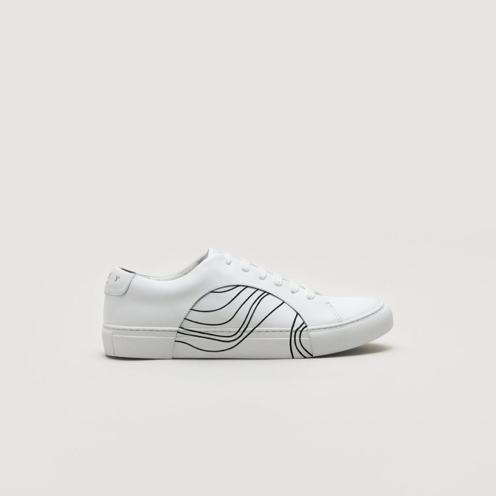 THEY -CIRCLE LOW AKAISHI SNEAKER