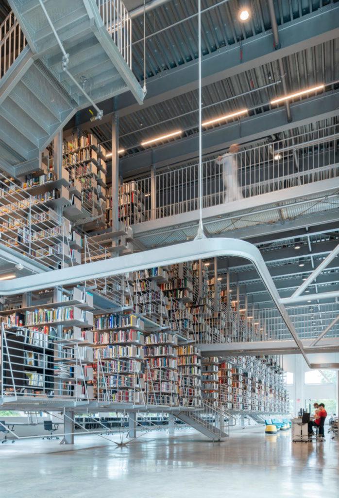 Cornell University library Rand Hall