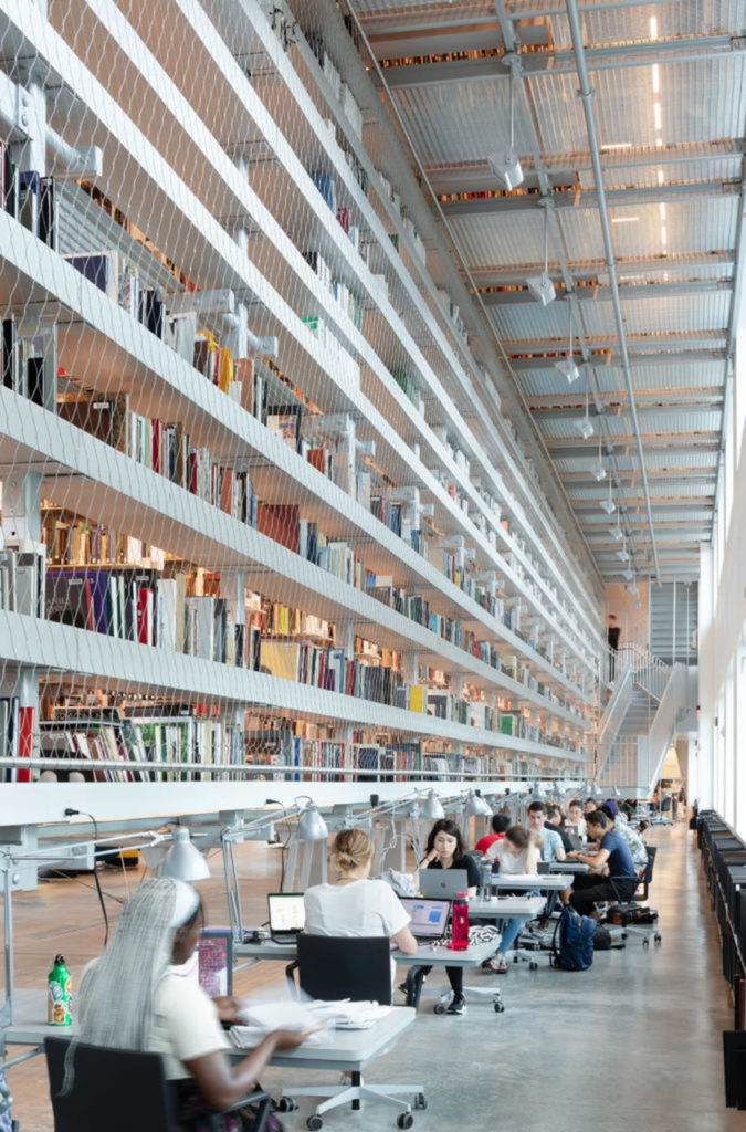 Cornell University library Rand Hall
