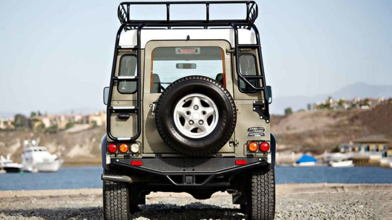 1997 Land Rover NAS Defender 90 Limited Edition