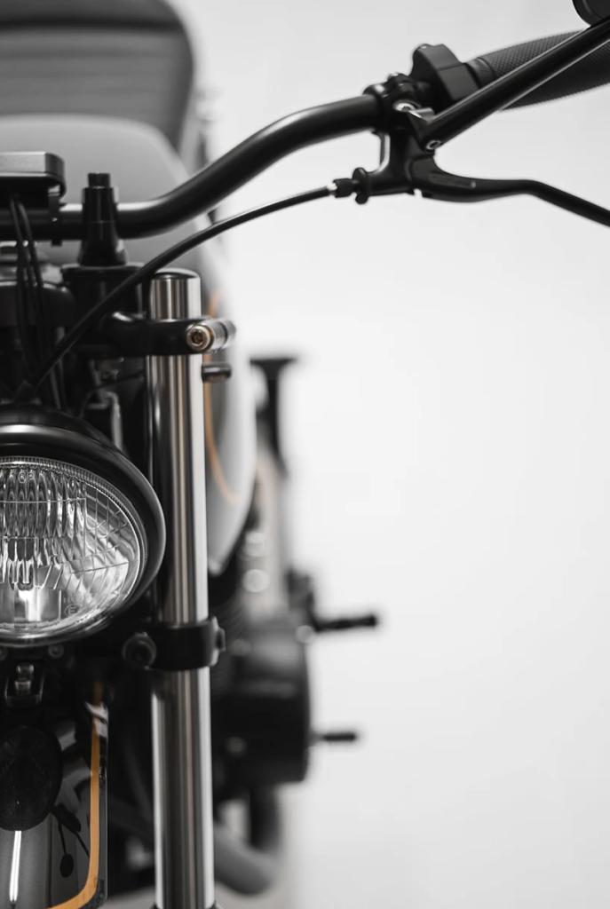 1977 yamaha XS360 motorcycle