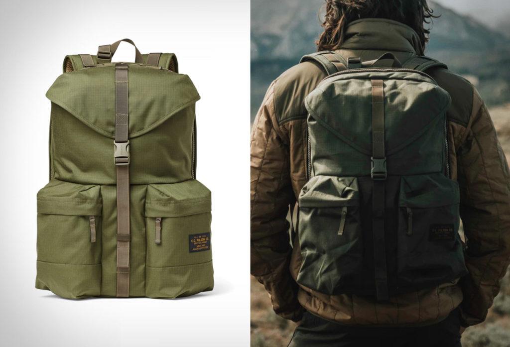 Filson-Ripstop Nylon Backpack-01