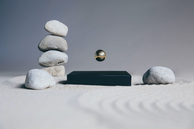 Buda Ball a levitating sphere