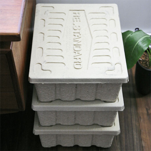 HIGHTIDE Molded Pulp Box モールデッドパルプボックス