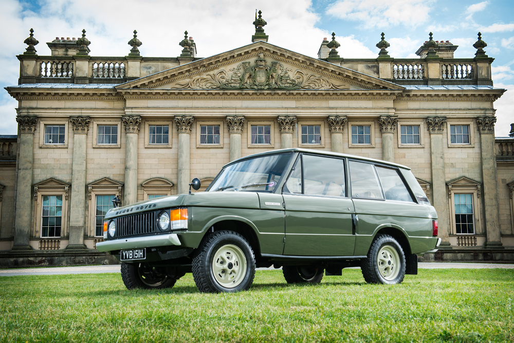 1970  Land Rover RANGE ROVER – CHASSIS #001