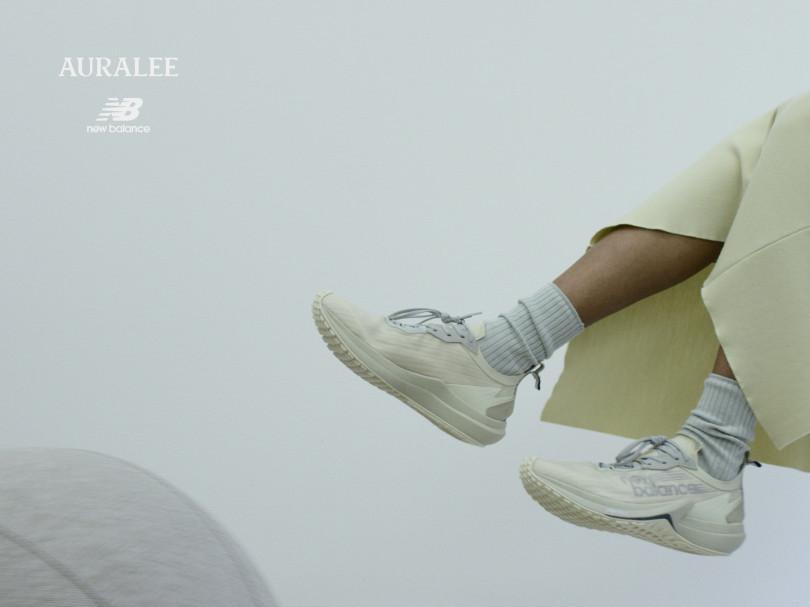 New Balance x AURALEE  FuelCell Speedrift