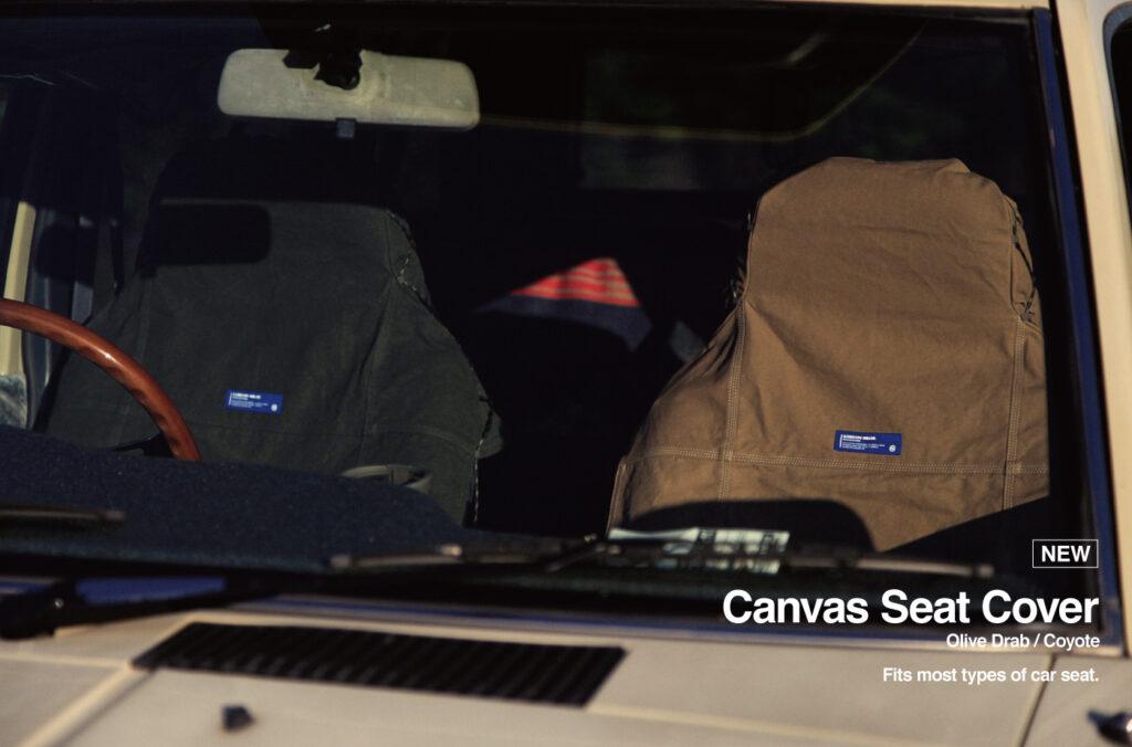 CANVAS SEAT COVER GORDON MILLER